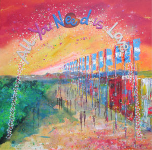 All You Need Is Love, Alce Harfield painting