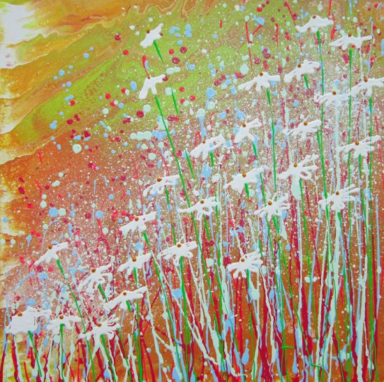 Sunshine Painting by Alce Harfield
