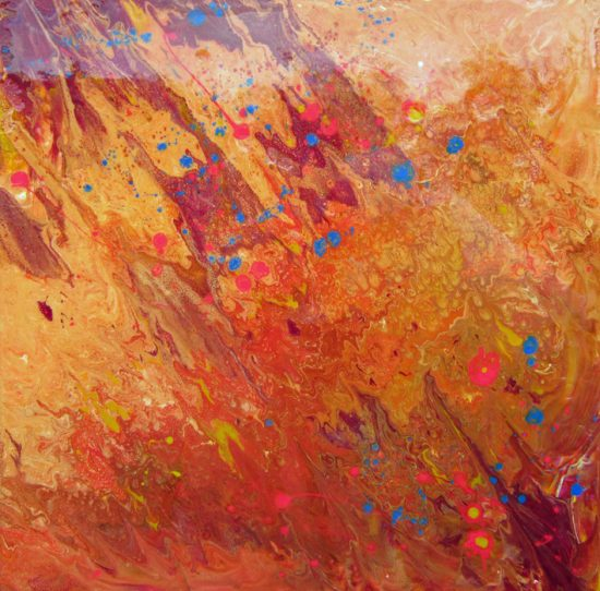 Gold Crush Painting by Alce Harfield