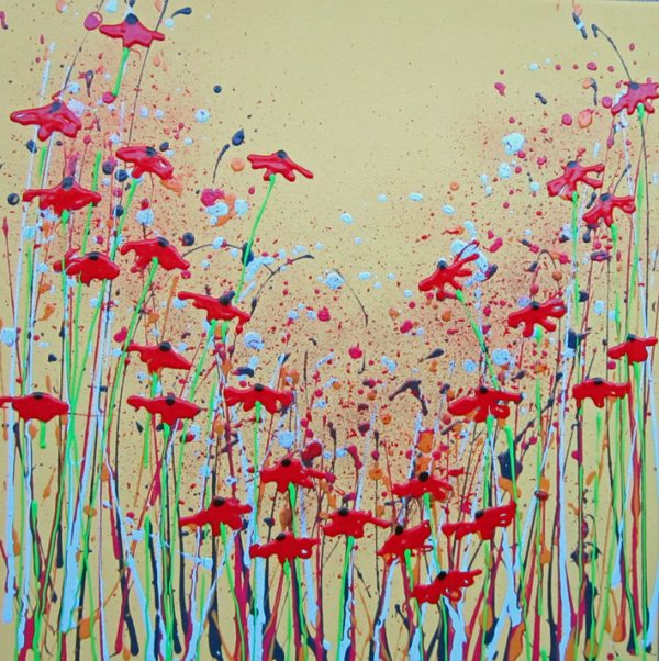 Poppy perfect by Artist Alce Harfield
