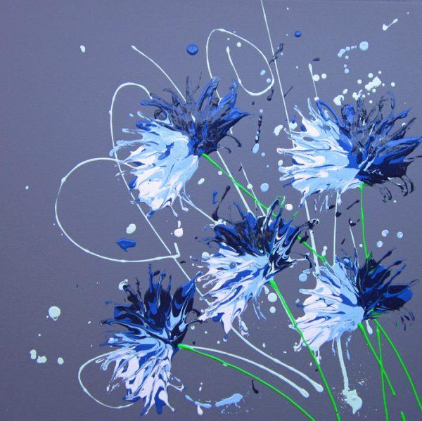 Cornflower Splash by Alce Harfield