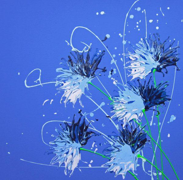 Indigo Blue by artist Alce Harfield