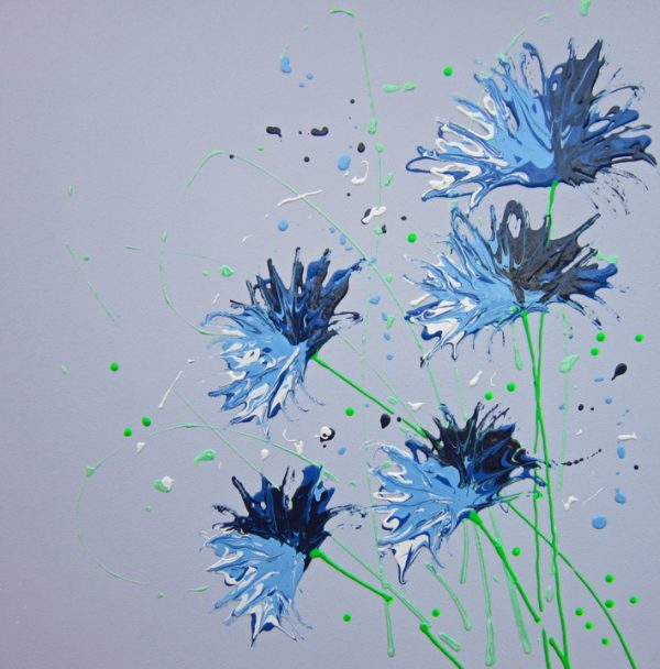 2088 Cornflower splash