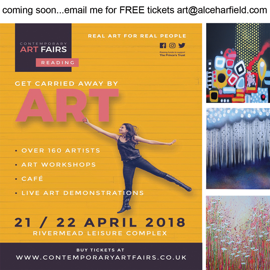 Contemporary Art Fair, Reading. 21st 22nd April 2018