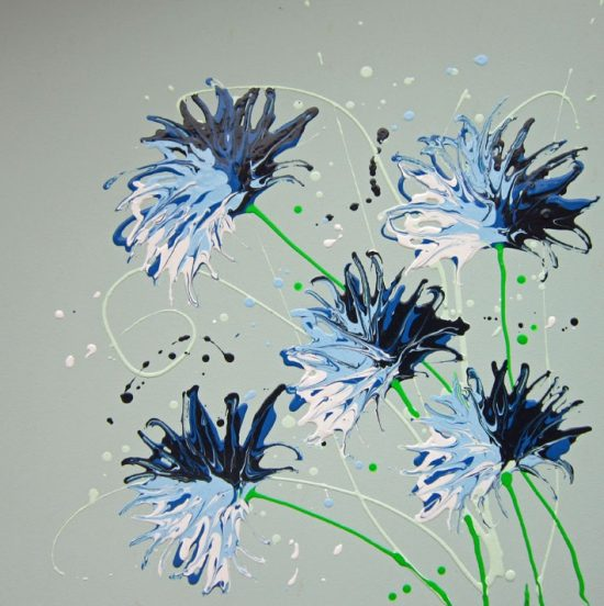 2132 Cornflower Splash
