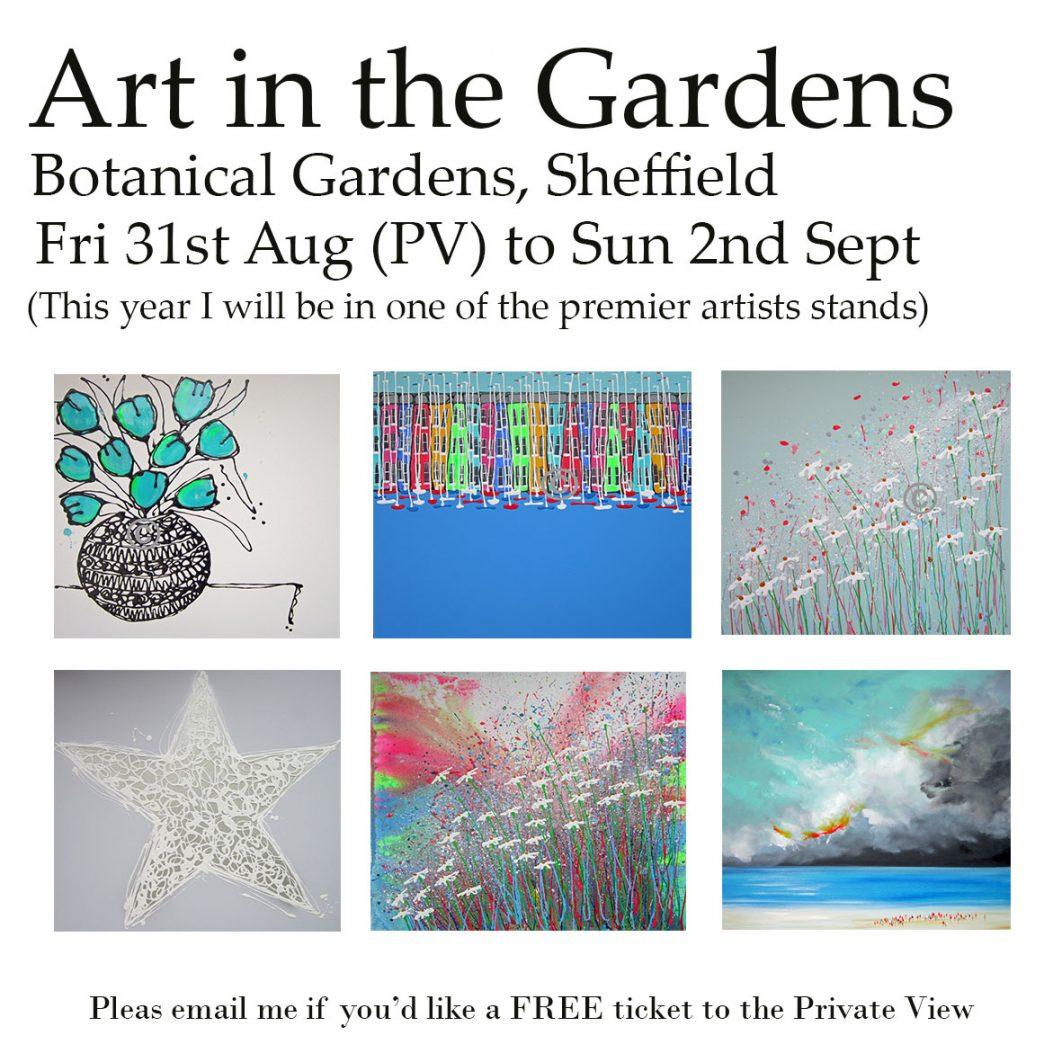 art in the gardens, Shefield