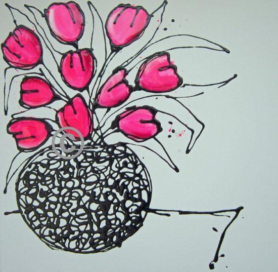 2167 Vase of Sunshine