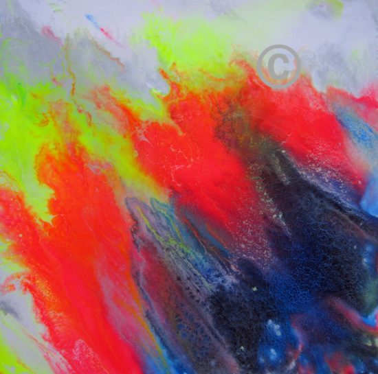 2211 Carnival (acrylic on board with resin coating