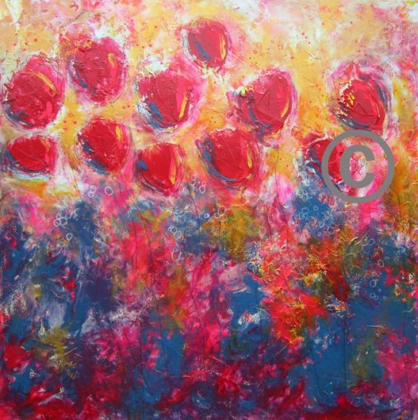 """2284 Ruby Red 30x30"""""""
