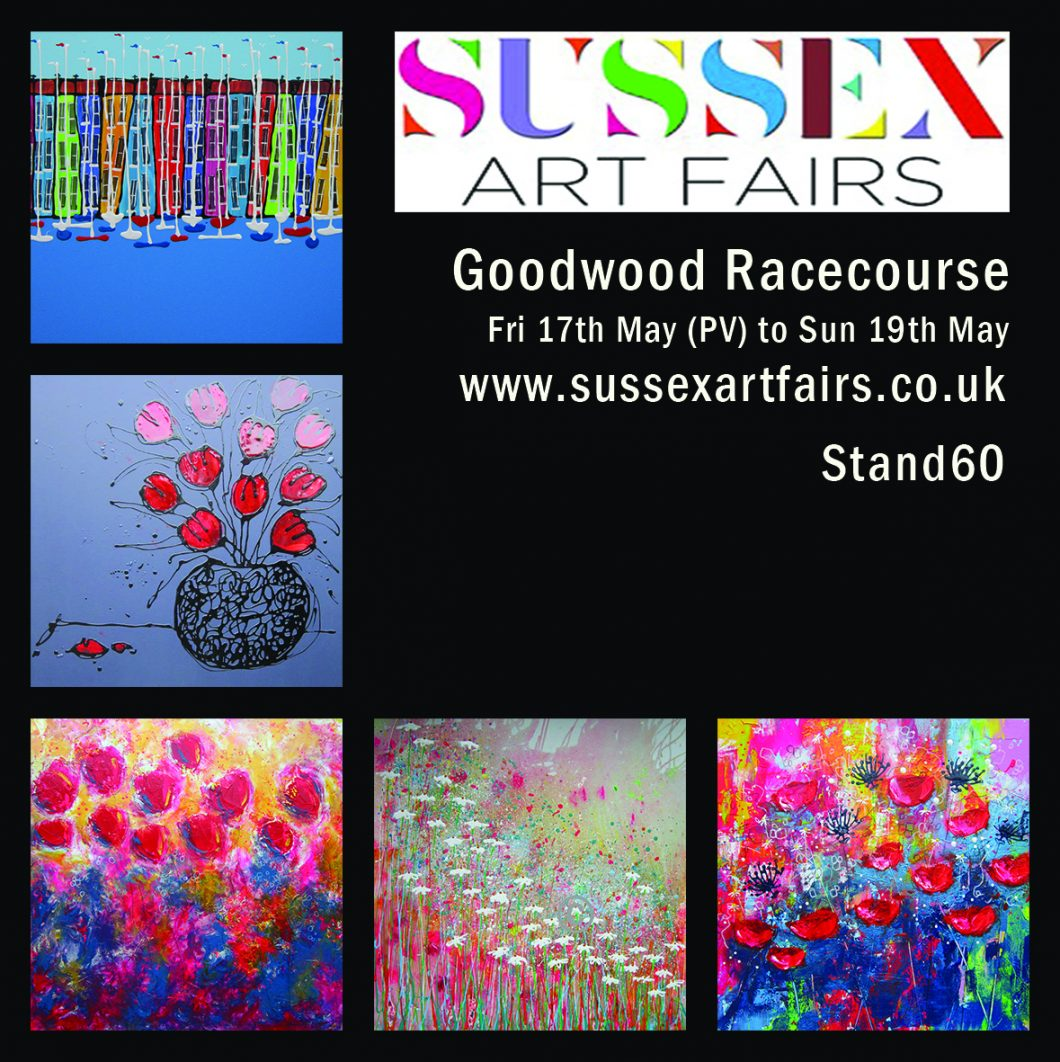 Sussex art show - goodwood races