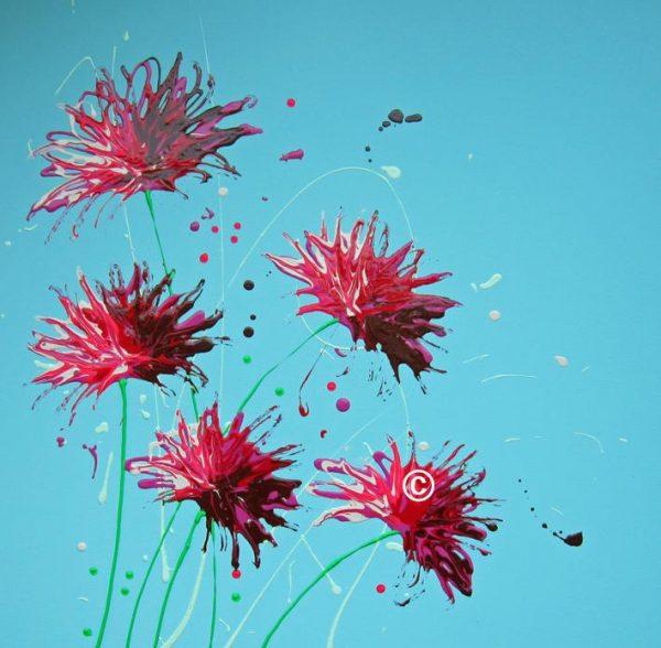 Cornflower Splash