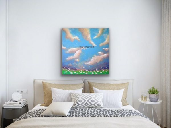 Daisy Clouds in a room