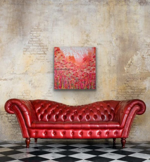 Poppy Passions in a room