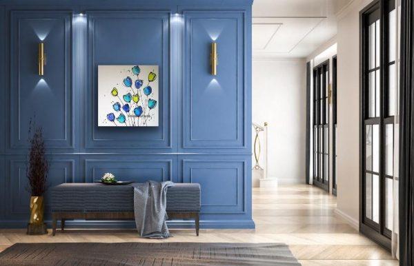 Indigo Blue in a room