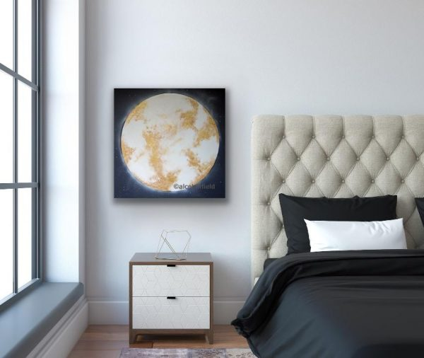 The Whole of the Moon in a room